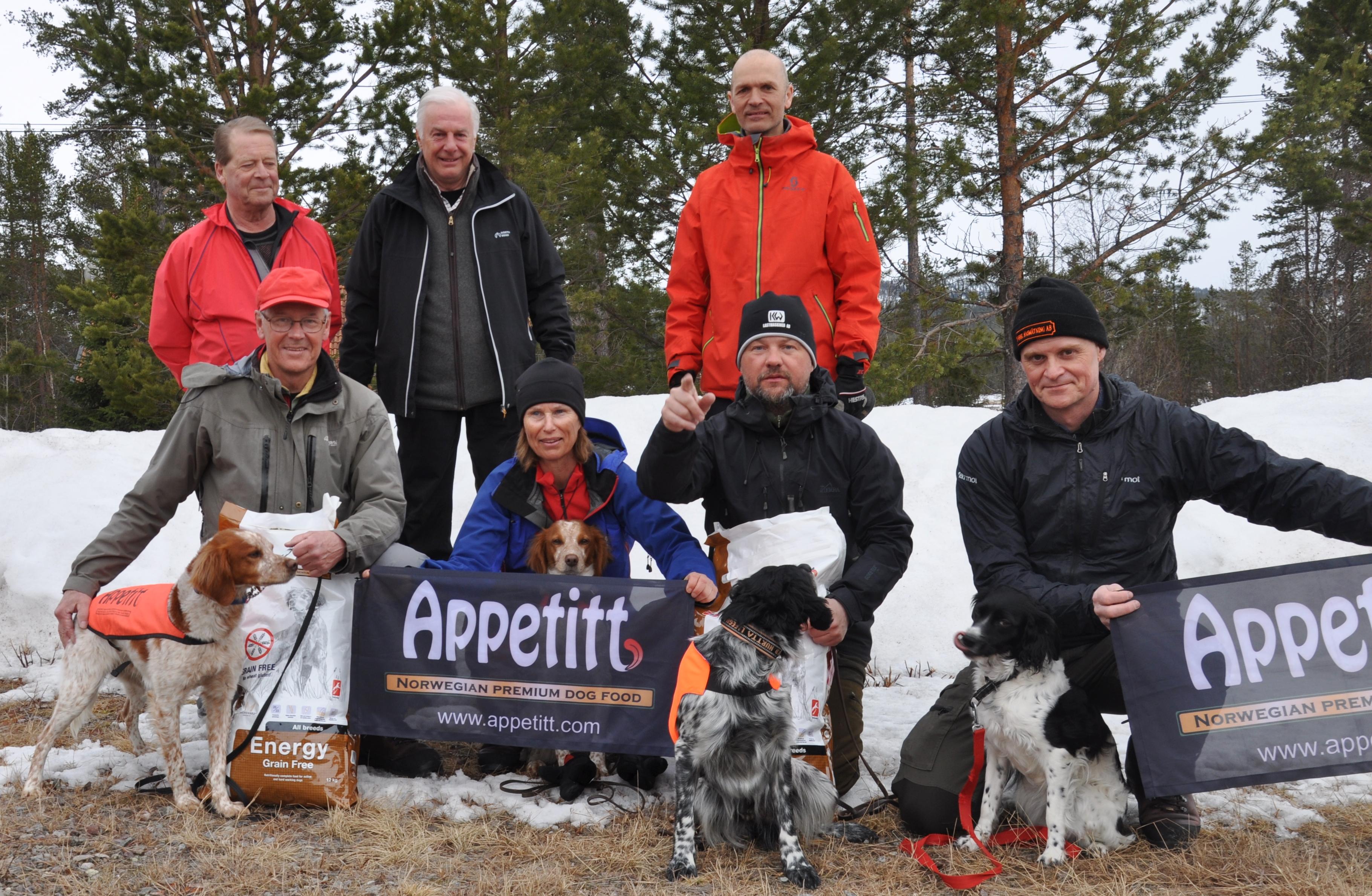 Jaktprov I Lofsdalen 2016