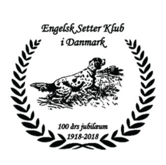 Inbjudan Till Jaktprov Och Utställning Från Engelsk Setterklubb I Danmark