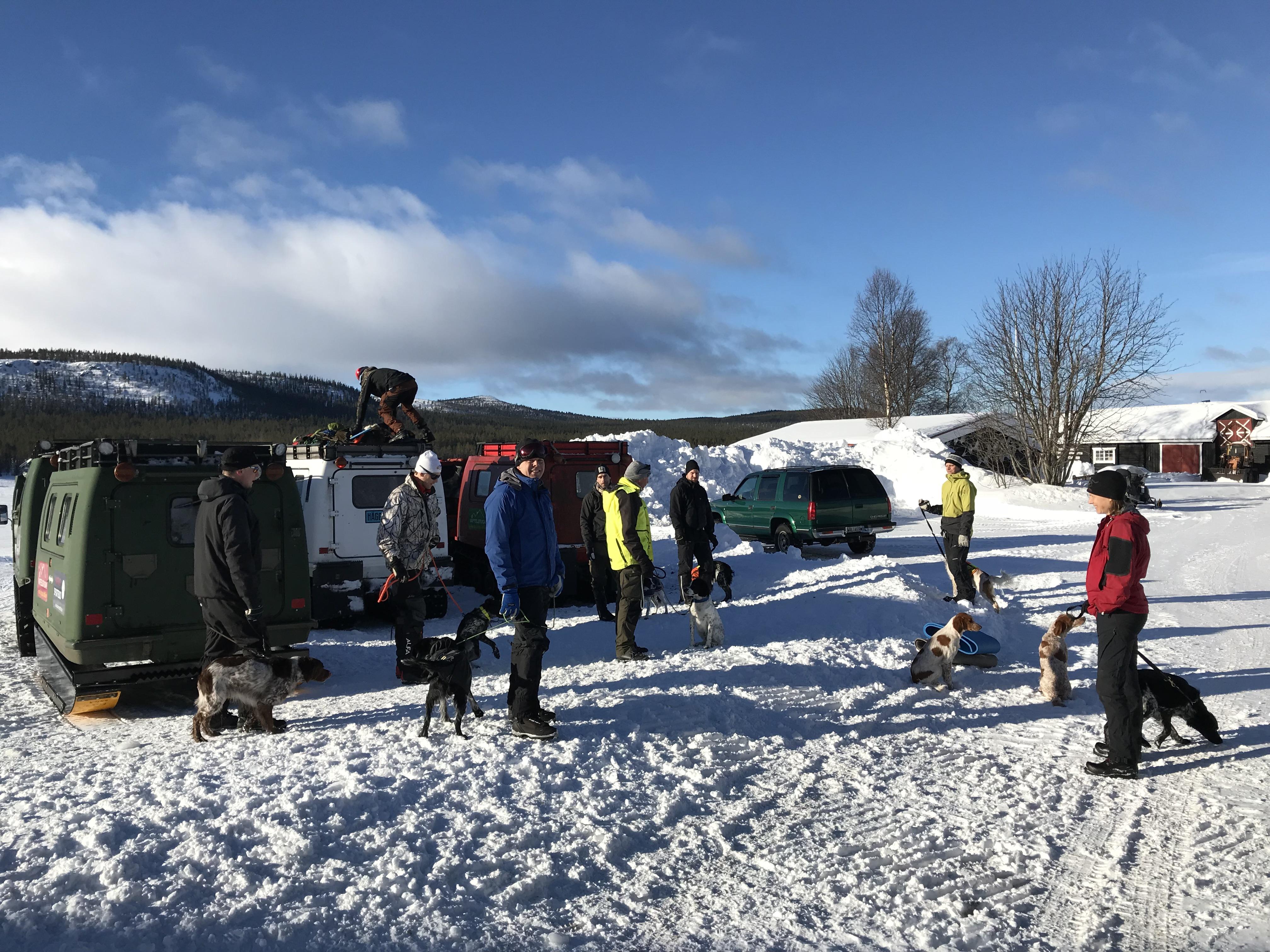 Träning Lofsdalen 22-23 Mars