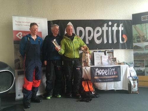 Joachim Almgren Och Tindra Vinnare Av NM Vinter 2017